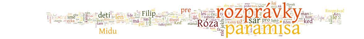 PARAMISA-ROZPRÁVKY: svet rómskych rozprávok