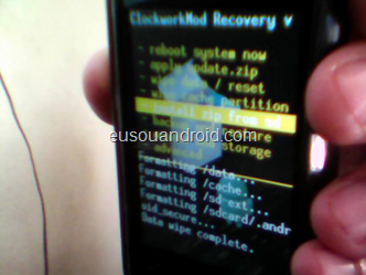 Tutorial – Samsung Galaxy Y S5360 ROM Ultimaterom v.1 + Overclock