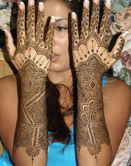 Mehndi Design Back Hand Mehndi Design