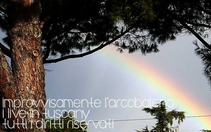 improvvisamente l'arcobaleno