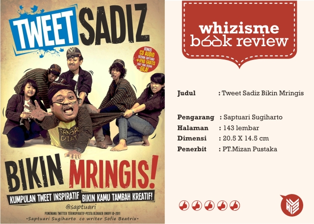Book Review: Tweet Sadiz Bikin Mringis