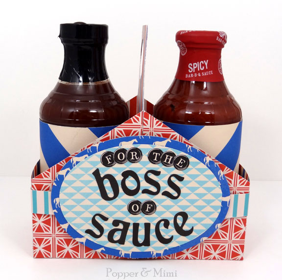 Boss of Sauce BBQ Father's Day Gift Pack | popperandmimi.com