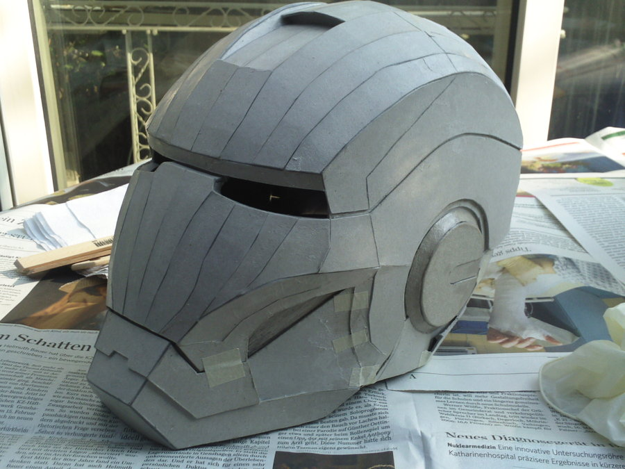 Iron Man Helmet Pattern How to Make Iron Man Helmet