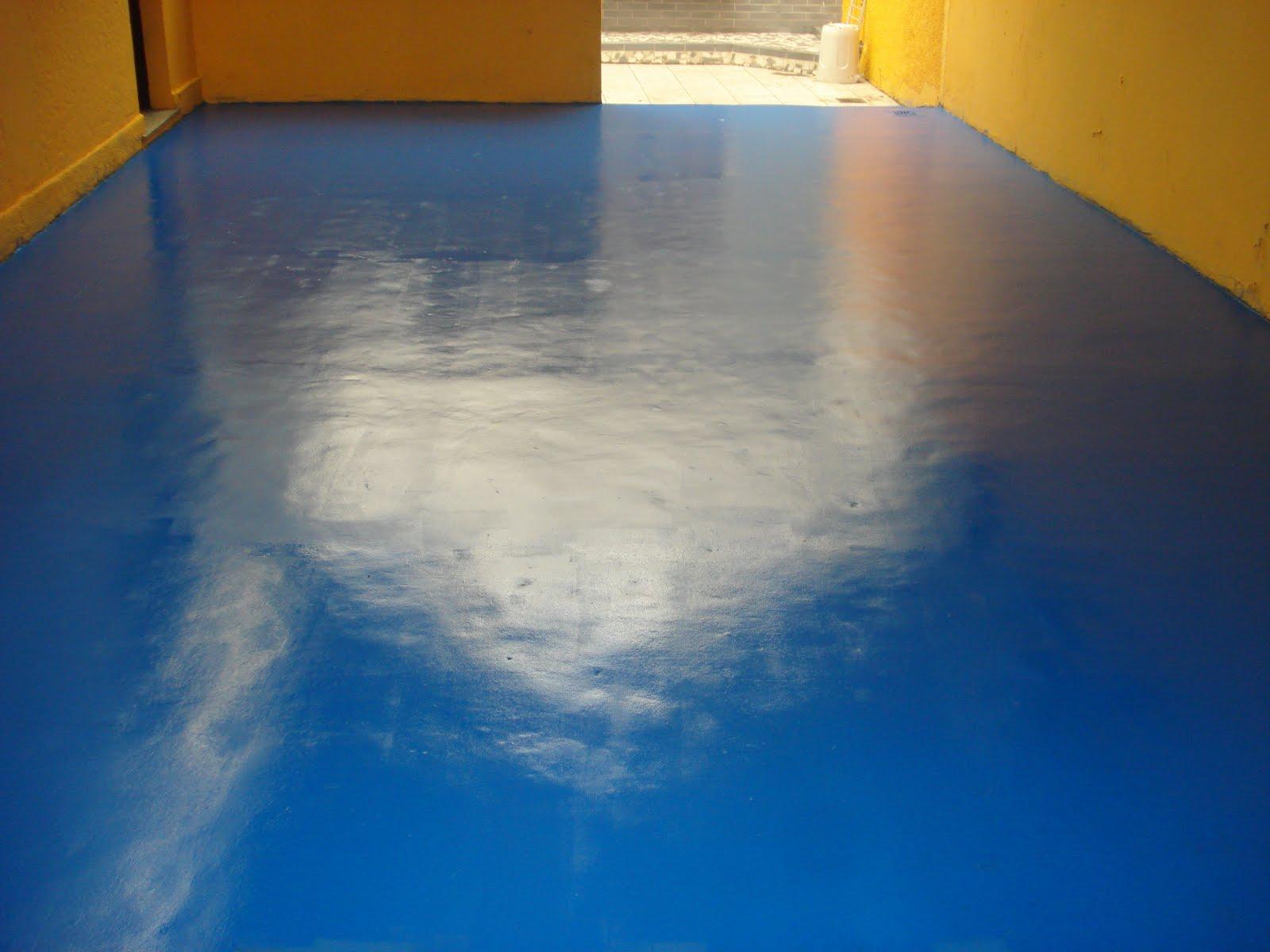 Como fazer voc mesmo como fazer para pintar e melhorar o - Como pintar piso ...
