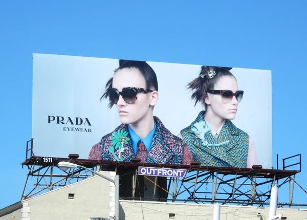 Prada Eyewear FW 2015 billboard