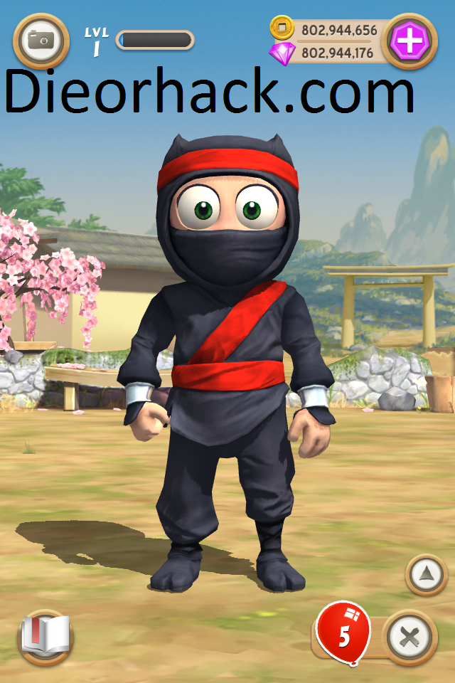 Clumsy Ninja Hack Cheat Unlimited Coins Unlimited Gems v1.2.1