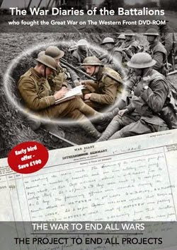 FIRST WORLD WAR DIARIES 1914-1919