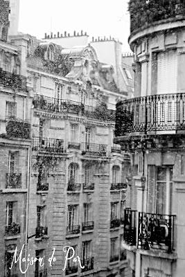The view from our apartment in Paris