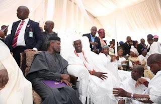 Coronation of new Ooni of Ife, Oba Adeyeye Enitan Ogunwusi