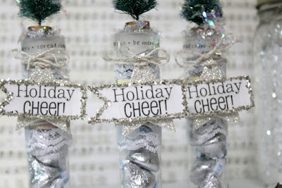SRM Stickers Blog - Bottlebrush Topped TUBES by Shantaie - #tubes #stickers #shimmertwine #gift #favor #DIY #christmas