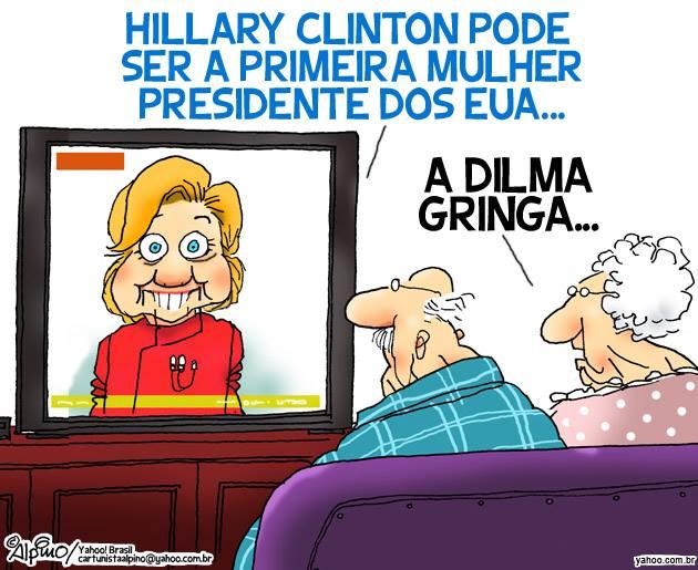 Dilma gringa