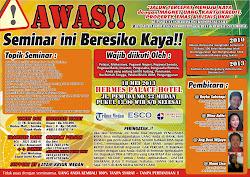 Seminar Beresiko Kaya