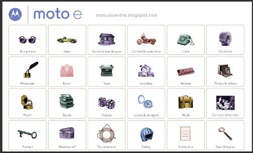 Motorola Moto E Manual