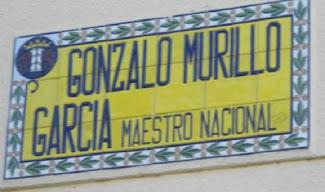 Calle dedicada a mi Padre en Badajoz