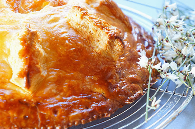 Ham & Cheese Pie in Puff Pastry