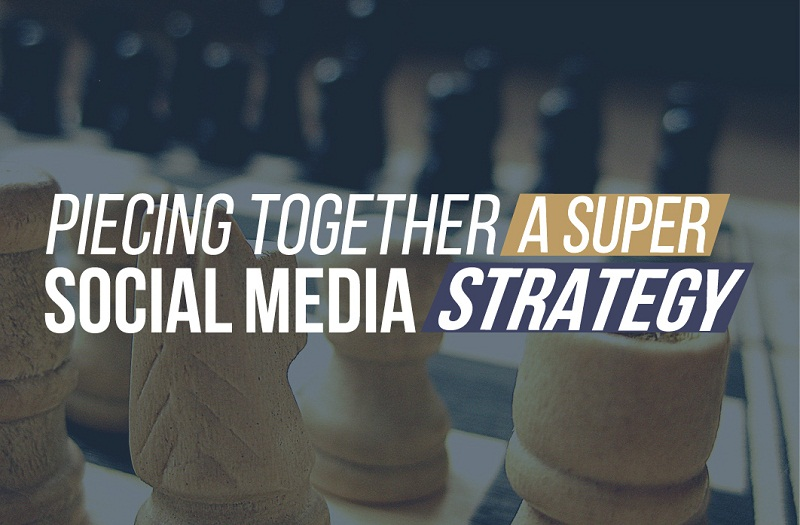 Piecing Together A Super Social Media Marketing Strategy - #infographic