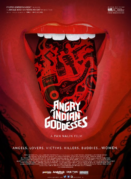 Poster Of Angry Indian Goddesses 2015 480p CAMRip Hindi full movie