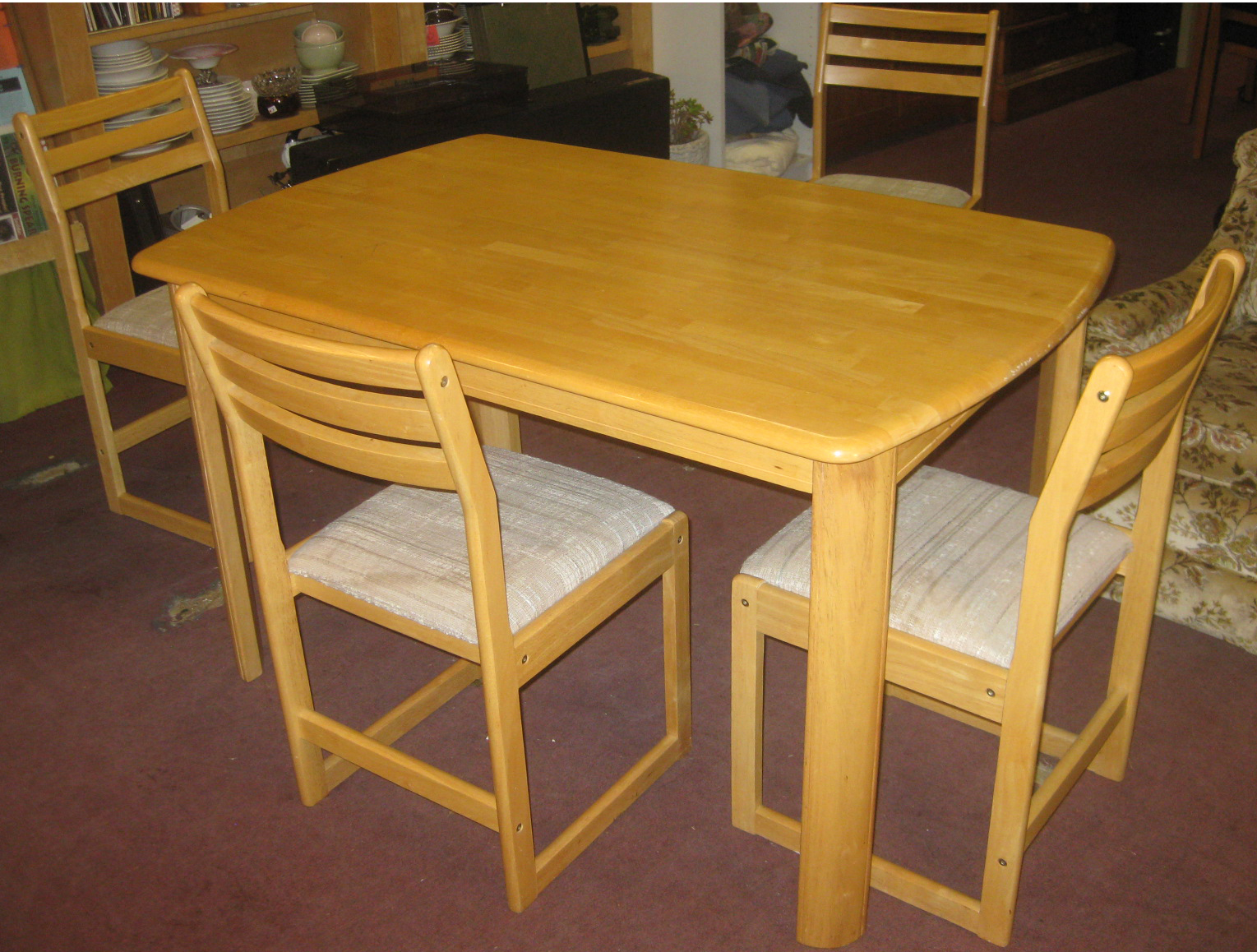 uhuru furniture collectibles sold ash kitchen table