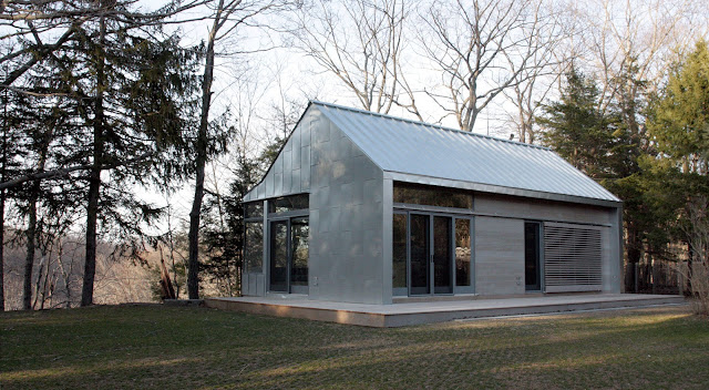 ModDesignGuru - Thinking-Outside-the-Box Design: Marvin's Architect Challenge: The Lyme house by David Mansfield Architecture and Design