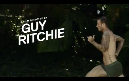 David Beckham Guy Ritchie H&M Advert