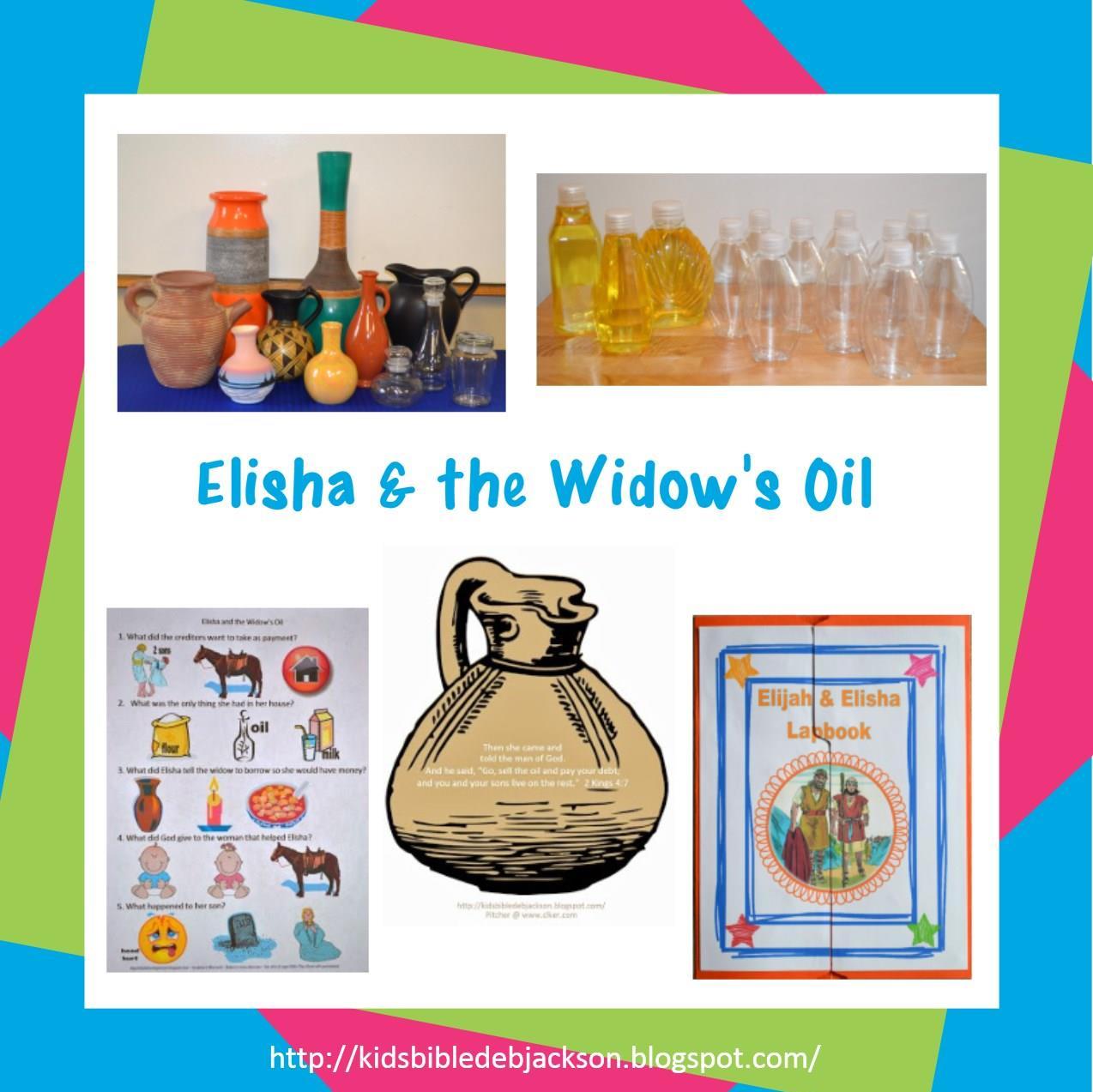 http://kidsbibledebjackson.blogspot.com/2014/03/elisha-widows-oil.html