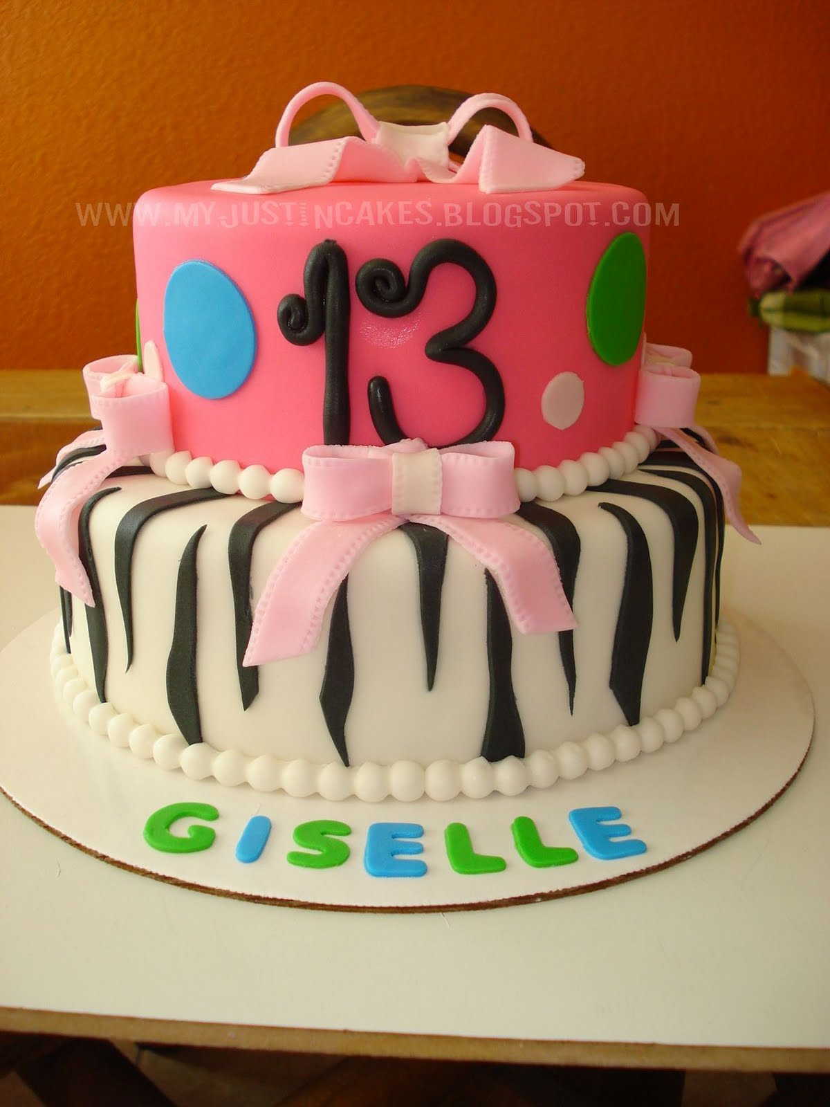 7 Year Old Birthday Cakes http://myjustincakes.blogspot.com/2011/12/13-year-old-girl-birthday-cake.html