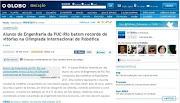 O Globo online . RioBotz . 19.04.11