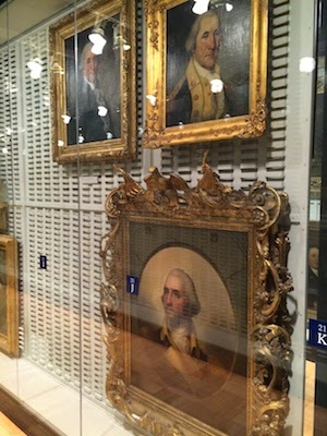 Chuck and Lori's Travel Blog - George Washington Portraits at the Metropolitan Museum of Art
