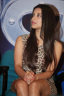 Actress Madhurima  Pictures in Short Dress at Nach Movie Press Meet  4