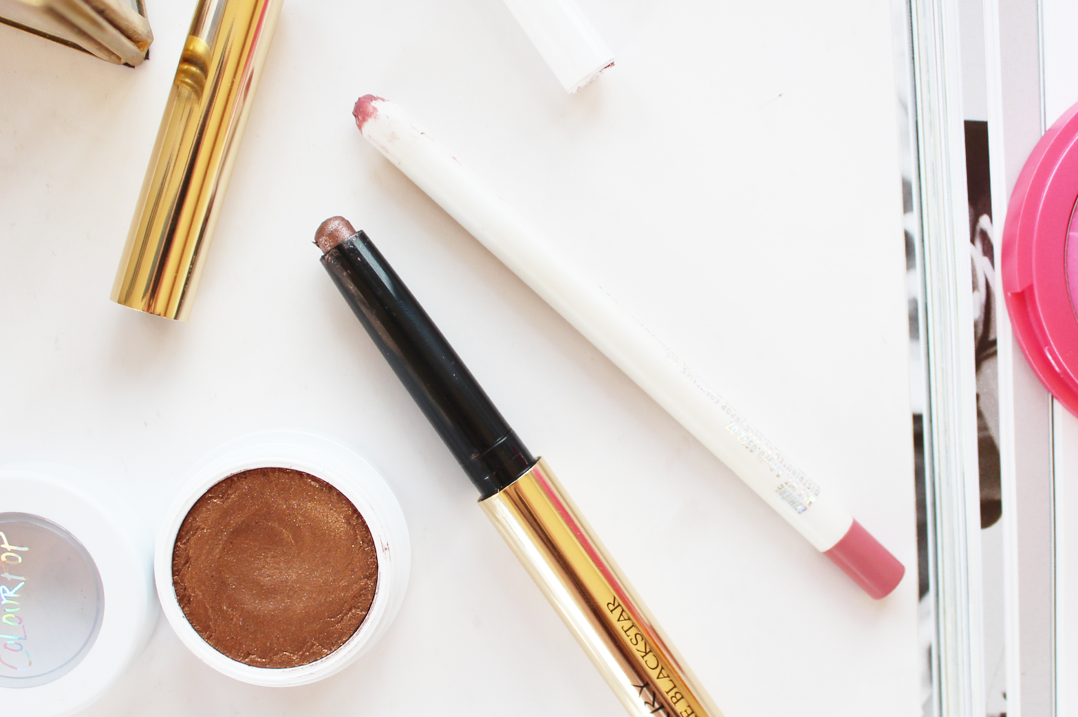 MOST LOVED | April '15 - By Terry Ombre Blackstar in Misty Rock + ColourPop Lippie Pencil in Lumiere - CassandraMyee