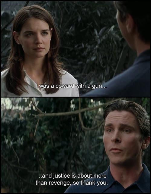 Rachel and Bruce Wayne (Batman Begins)