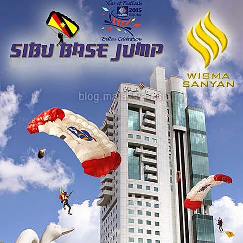 Sibu Base Jump 2015