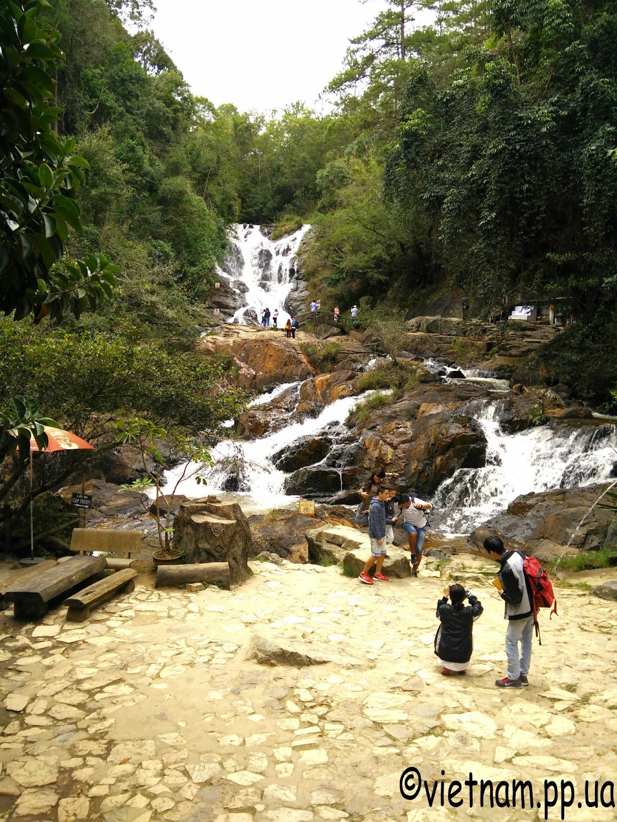 Водопады Далата Вьетнам