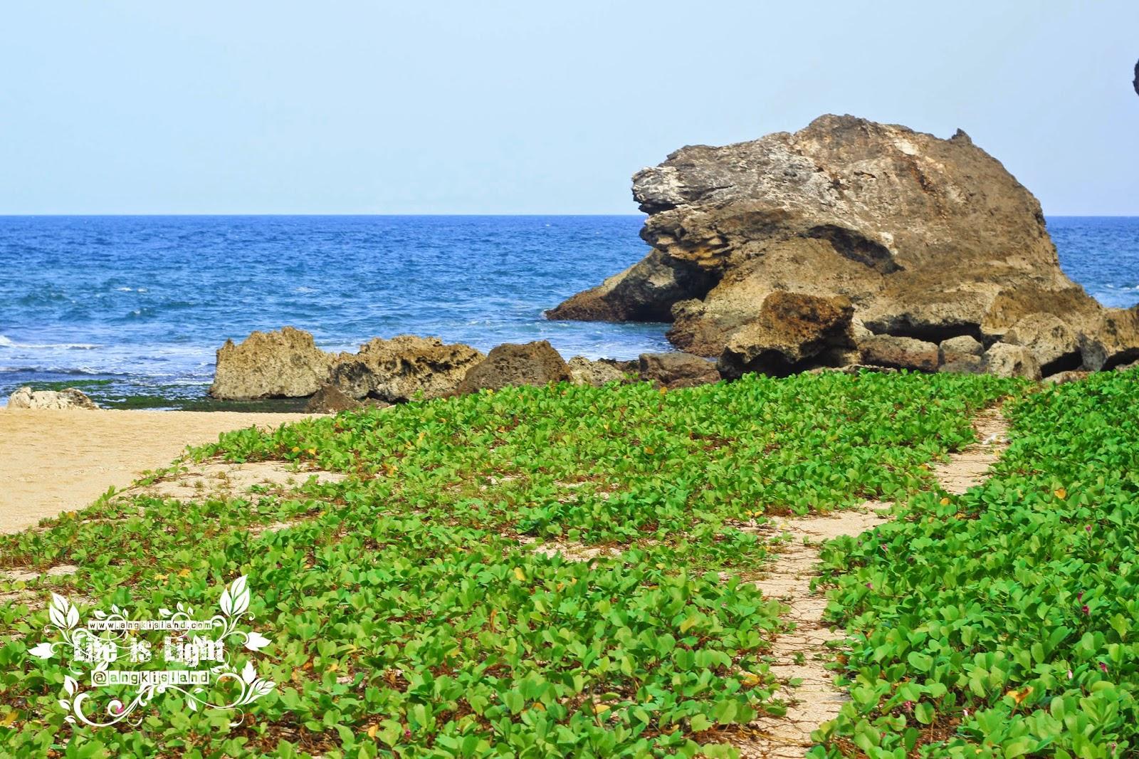 Pantai sepi di jogja