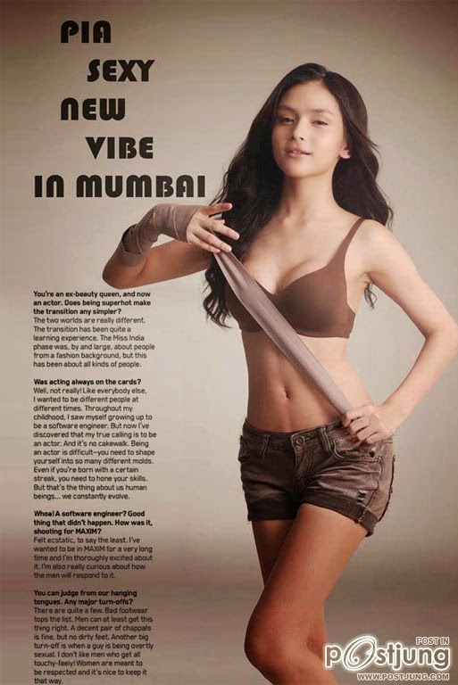 Pia Nakarat Spicy Pics For Maxim Magazine India November 2014