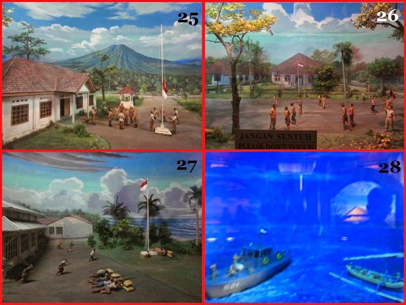 Diorama ke 25-28 Di Museum Bajra Sandi
