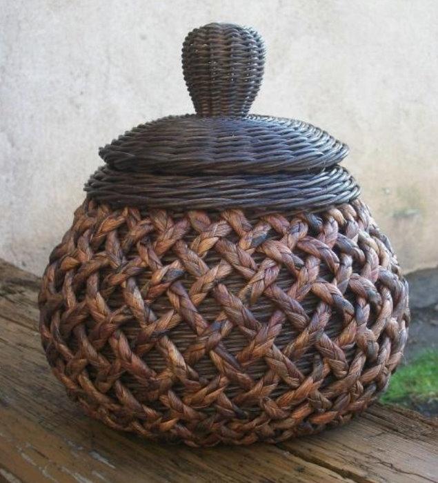 Sensitividad cesteria periodico - Reciclar cestas de mimbre ...