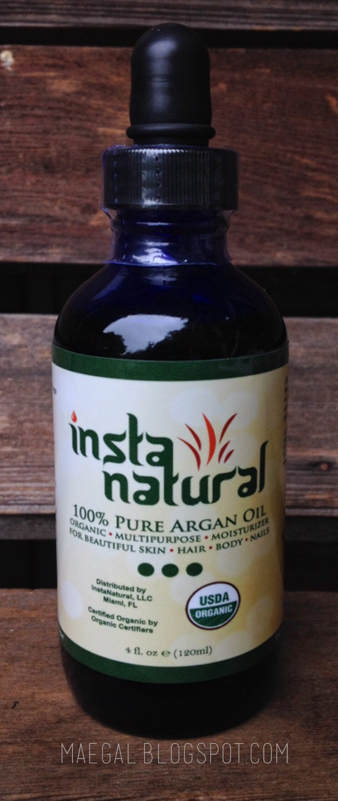 instanaturals 100% pure argan oil | maegal.blogspot.com