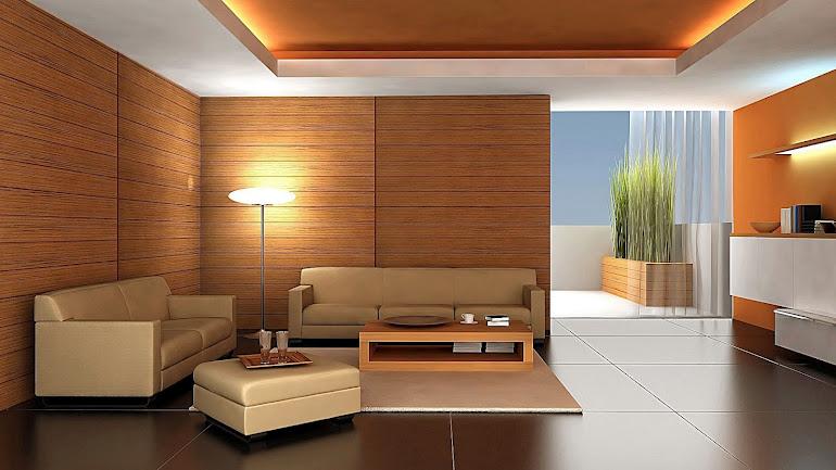 Interior Design of an apartment wood