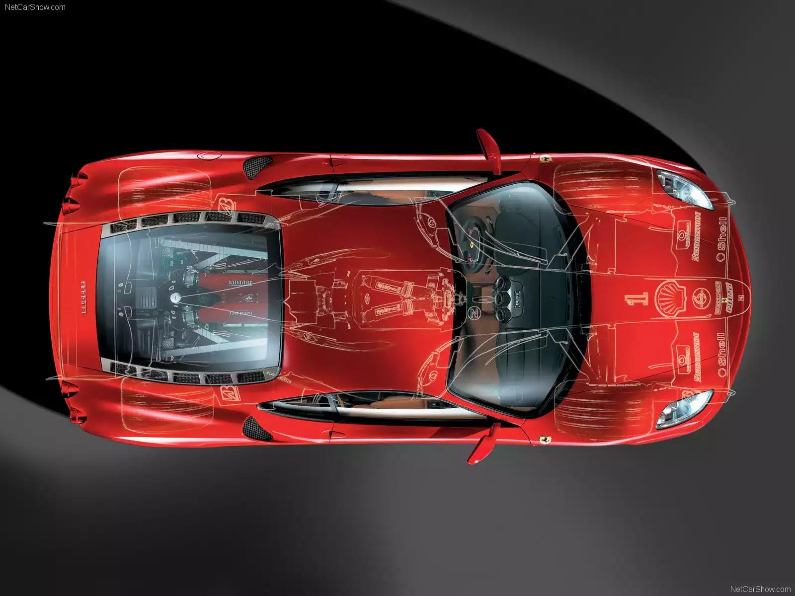 Hình ảnh siêu xe Ferrari F430 2005 & nội ngoại thất