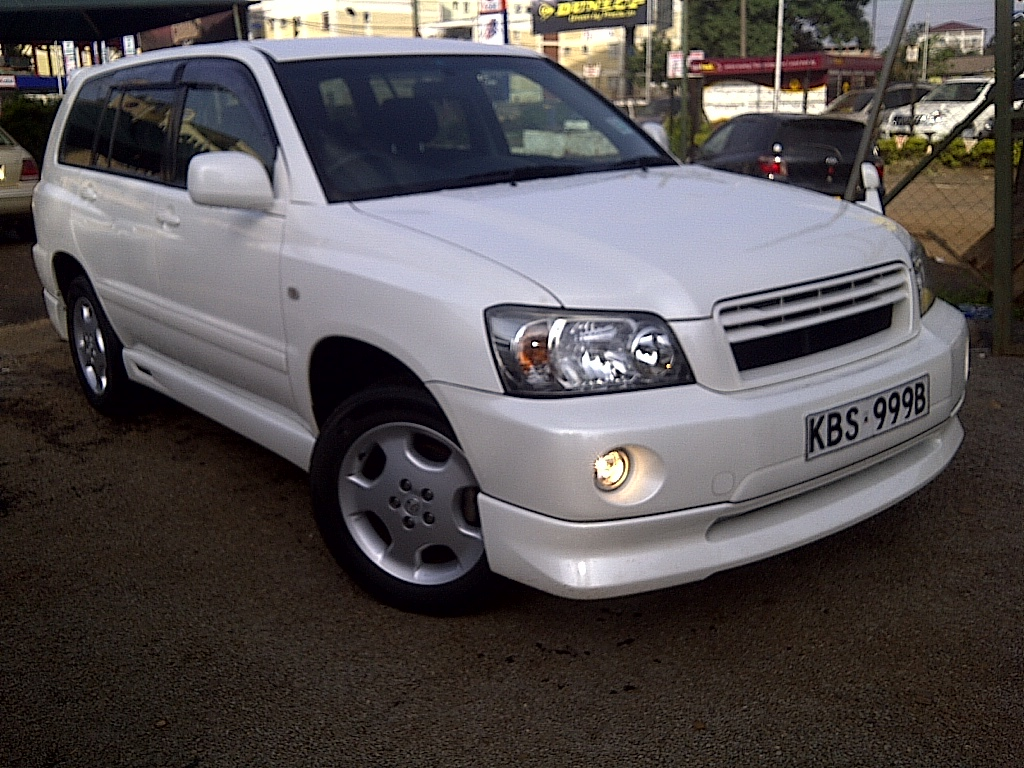 nairobimail toyota kluger 2005 pearl