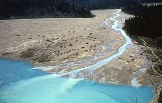 gambar tenaga eksogen - sedimentasi (pengendapan)