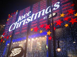 navidad, regalos, londres