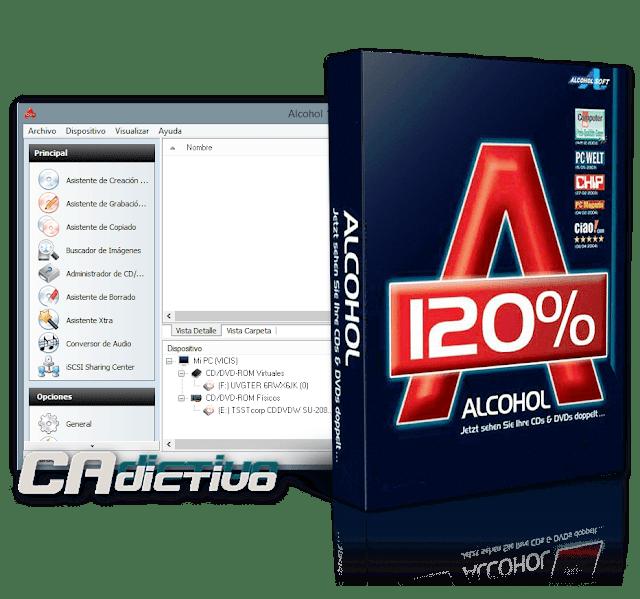 Alcohol 120% 2.0.3 Build  6732 Final Retail - Grabación fácil de CD/DVD y creación de unidades virtuales