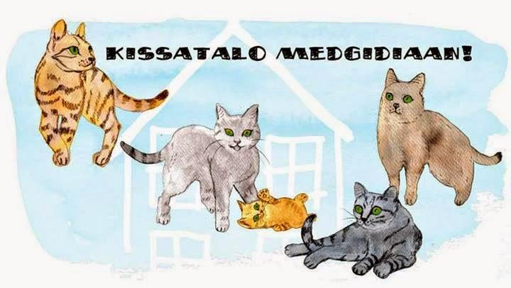 Auta kodittomia kissoja