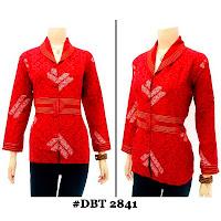 Blouse Batik Wanita DBT-2841