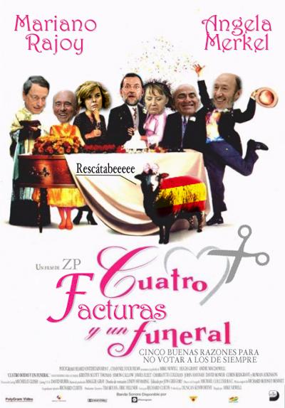 España va a tener que pagar cuatro facturas por los rescates y actuaciones de sus gobernantes.