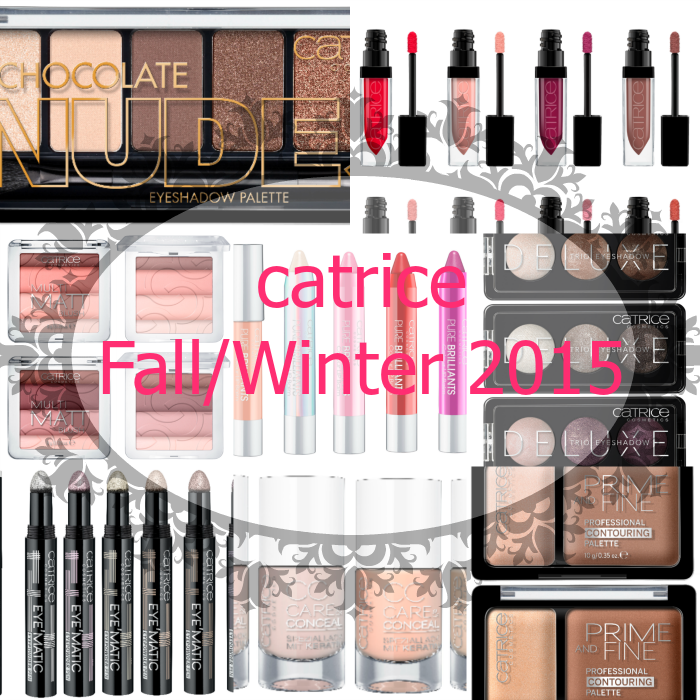CATRICE Neuheiten Herbst/Winter 2015 - Autumn/Fall 2015 new products