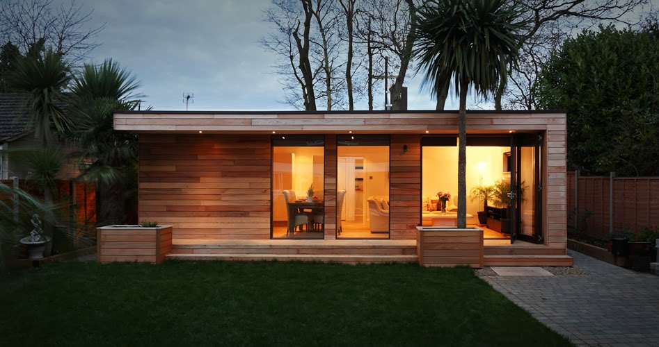 casas minimalistas y modernas cabana compacta moderna
