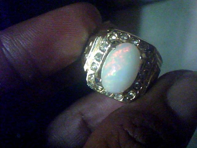 kalimaya+susu+afrika+ring+tembaga+chrome+424 Batu Cincin Kalimaya